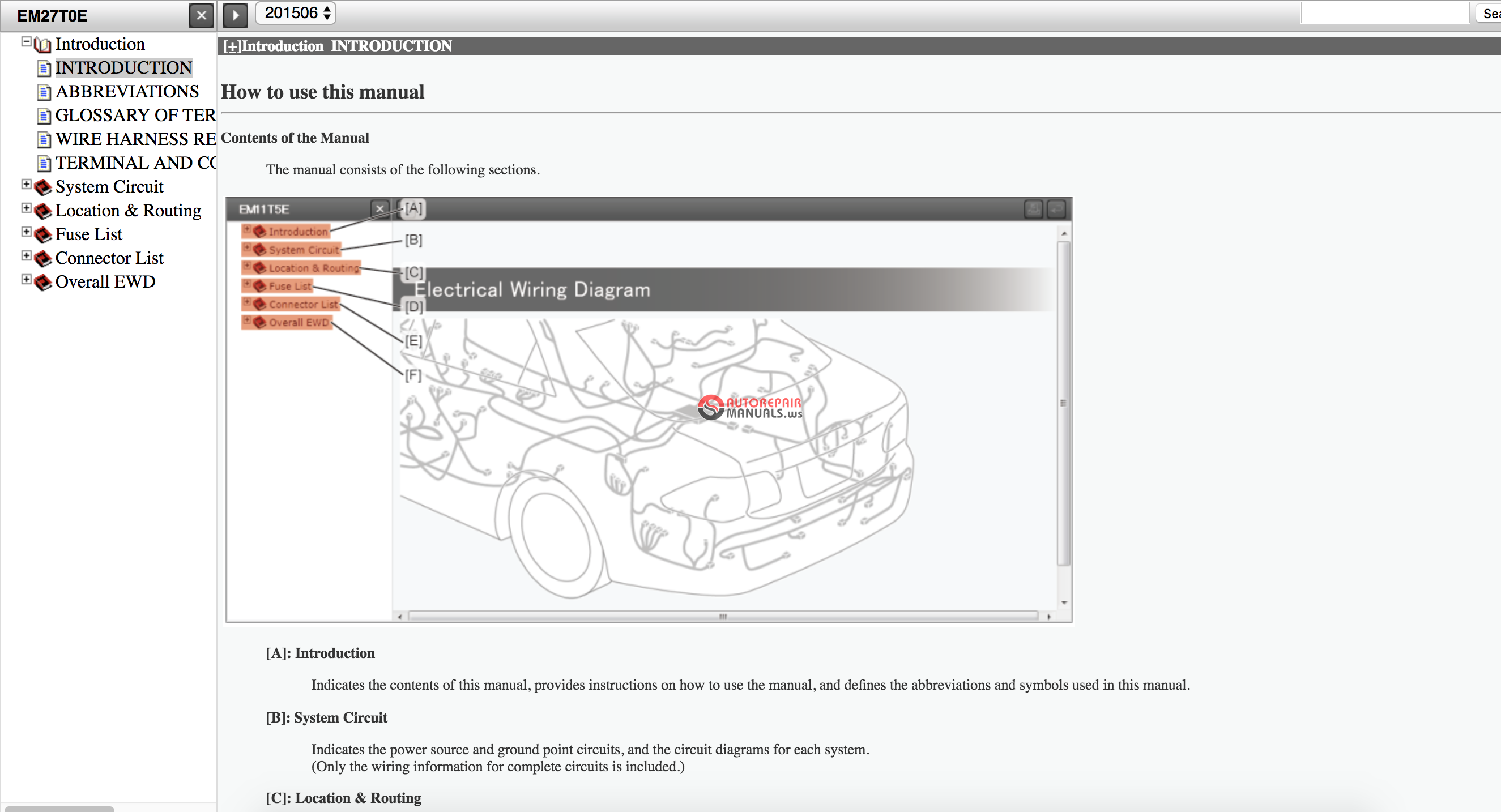 Toyota Land Cruiser Prado 150 English Electrical Wiring Diagram  06 2015   Em27t2  Online