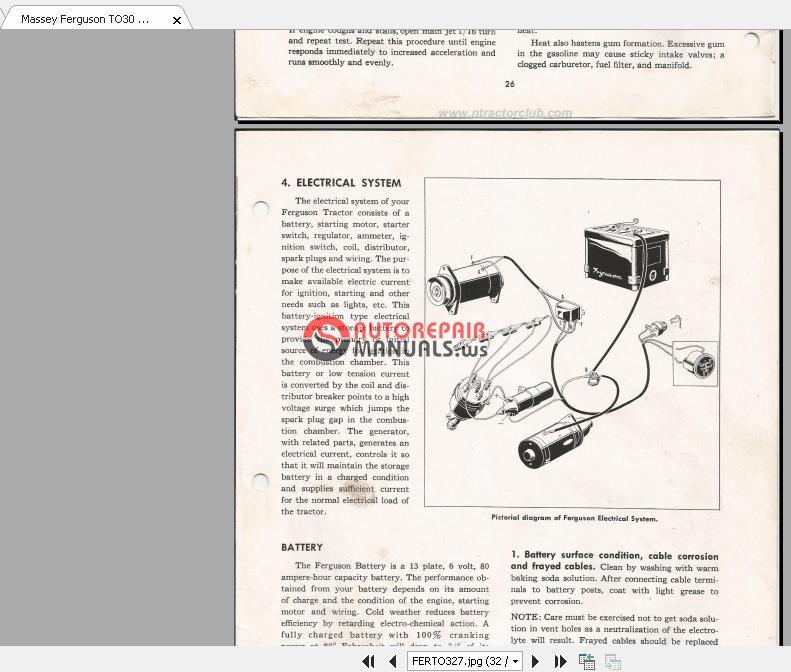 Enjoyable Mey Ferguson To30 Wiring Diagram Ferguson Z134 Wiring Diagram Wiring Digital Resources Tziciprontobusorg