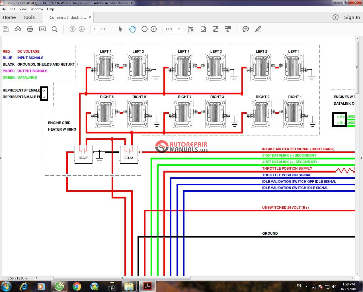 mins Industrial QST 30 3666234 Wiring Diagram   Auto ... on