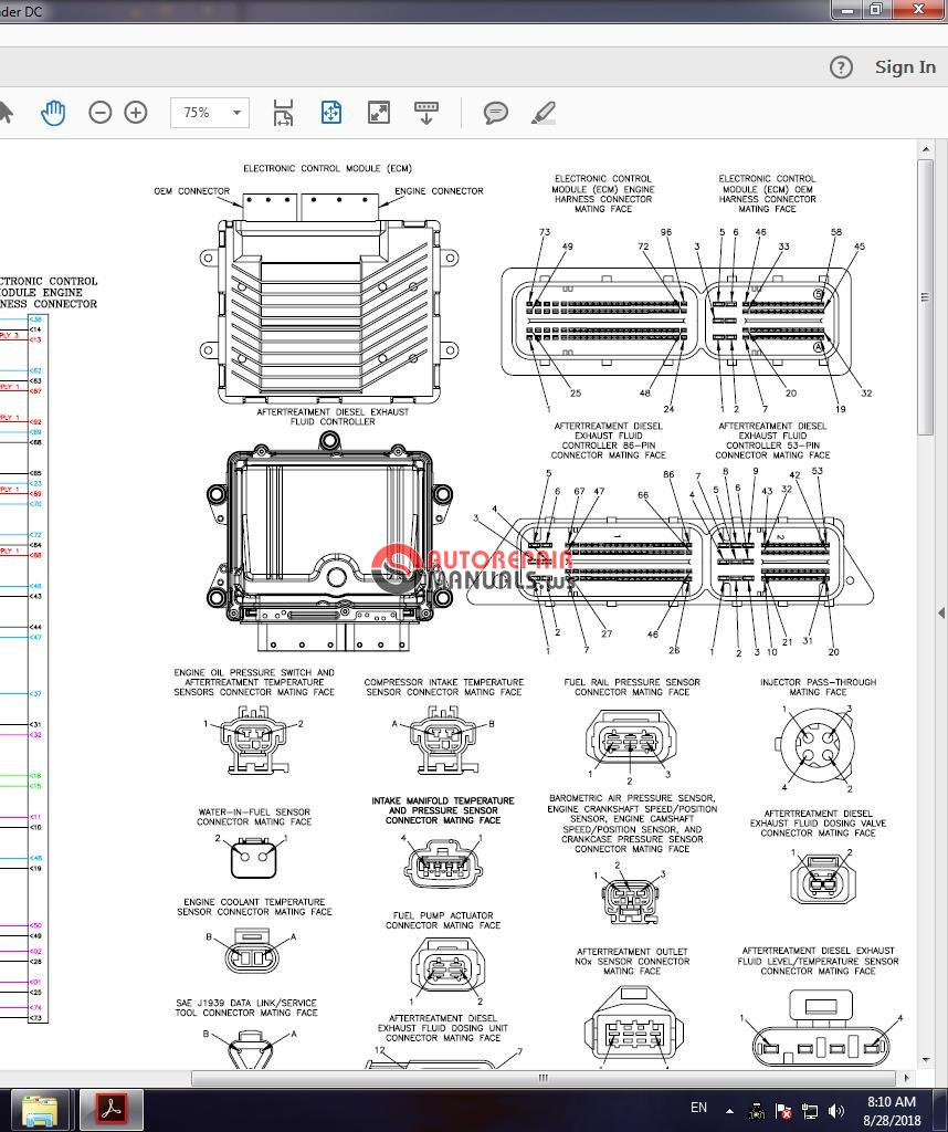 Cummins Marine Qsb67 Cm2250 4310614 Wiring Diagram Auto Repair Diagrams 3
