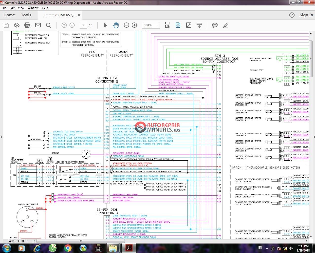 Cummins IMCRS QSK50 CM850 4021520-02 Wiring Diagram 1.jpg ...