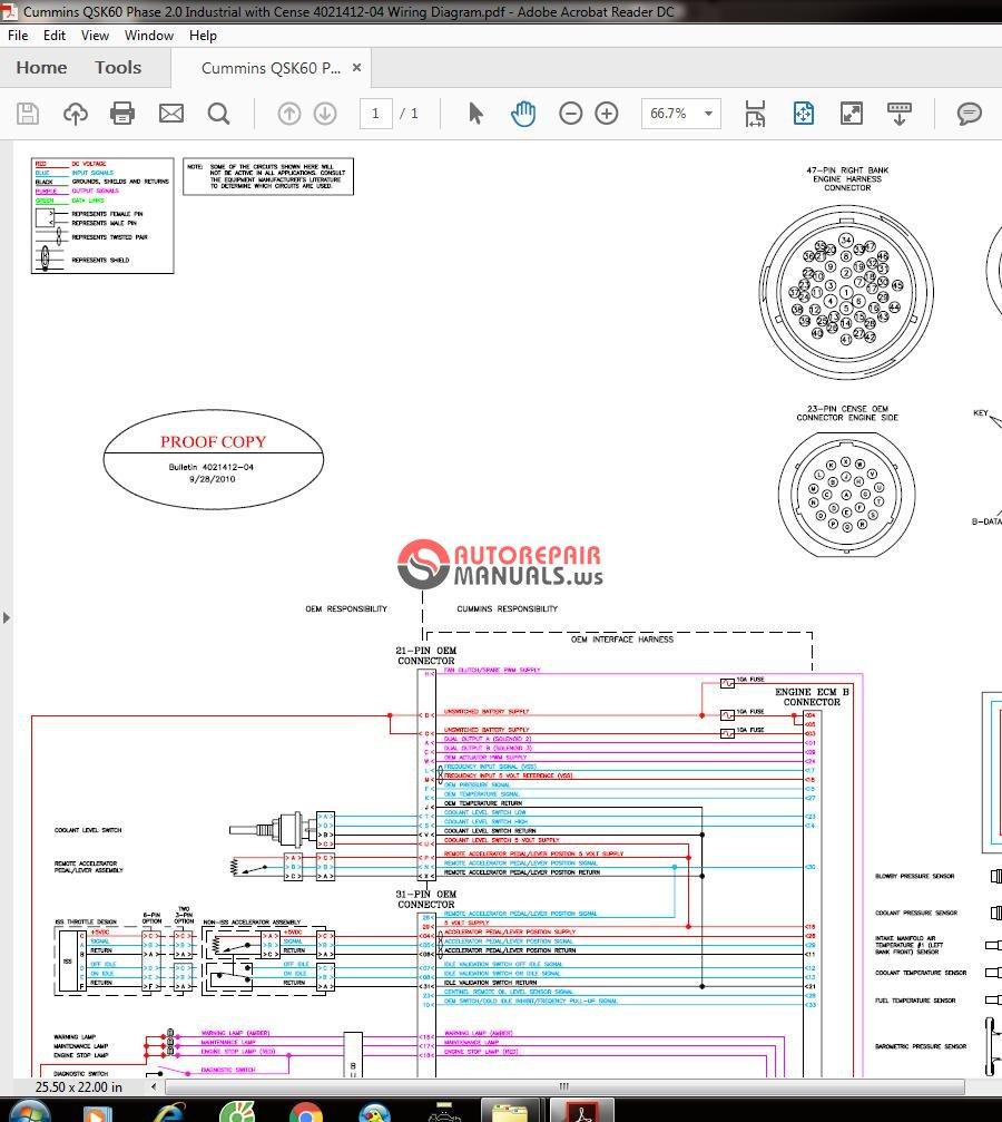Wiring Diagram Qsk60